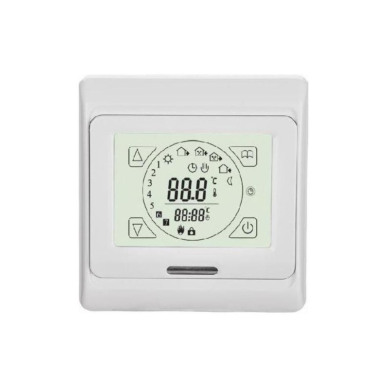 TH 89Plus Aqua thermostaat, 2xout 3A, ro/vl