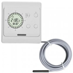 TH Eazy Clock thermostaat incl external sensor